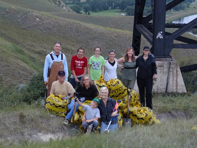 Help keep Lethbridge beautiful! Join a weed pull on the 3rd Thursday of each summer month.
