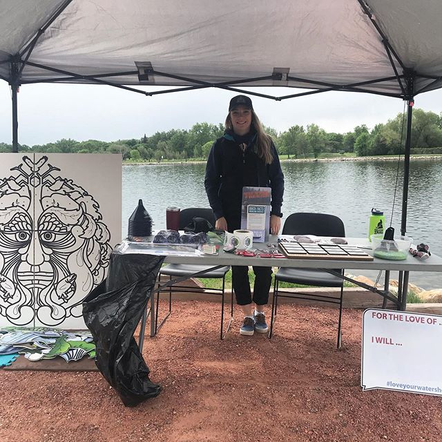 Come check us out at Nature Play Day at Henderson Lake! 🐟🐟
