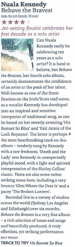 Nuala Kennedy Songlines review