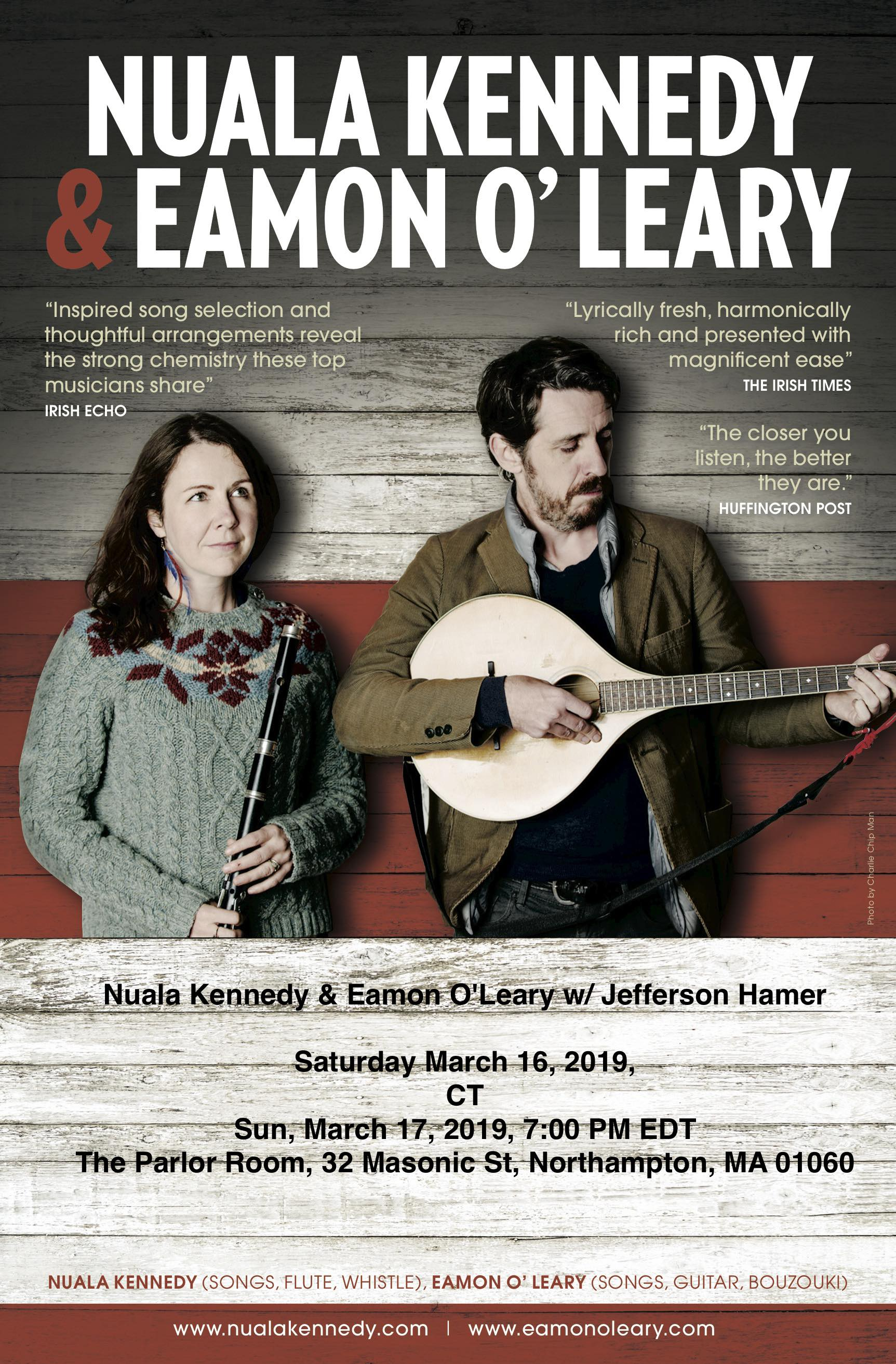 Nuala Kennedy Eamon O'Leary March 2019