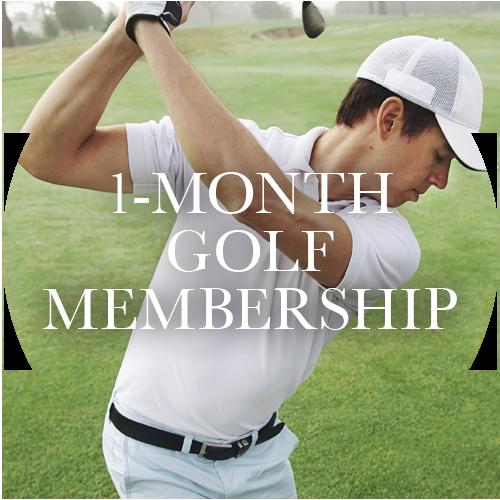 1-Month Golf Membership