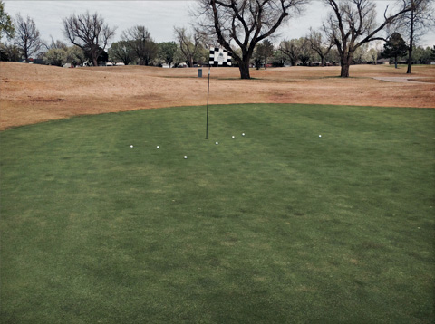 The Equator shot. 30 seconds to hit all 7.