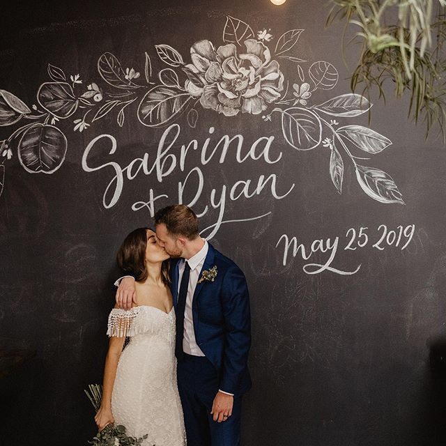 Sabrina & Ryan's wedding was so pretty! So much fun to be apart of it and be able to design their chalkwall art. ✷✹✷ Venue: The WoodShed Venue || @thewoodshedvenue  Coordinating: Claire Marie Coordination || @clairemariecoordination Photo: Brocoff Photography || @brocoffphotography . . . . . #pearlandpen #sandiegowedding #modernwedding #weddinginspiration #sandiegoevents #inspiredbythis #sandiegobride #socalbride #weddinginspiration #pearlandpensigns #customlettering #weddingmenus #weddingmenu #sandiegowedding #bohowedding #weddinginspiration #sandiegoevents #inspiredbythis #sandiegobride #socalbride #weddinginspiration #weddingsign #eventsignage #weddingtabledecor #moderncalligraphy #eventplanner #eventdecor #eventdecoration #sdartist #chalkboardartist #weddingchalkboard #chalkboardart #flowerillustration #chalkboardwedding #flowerart