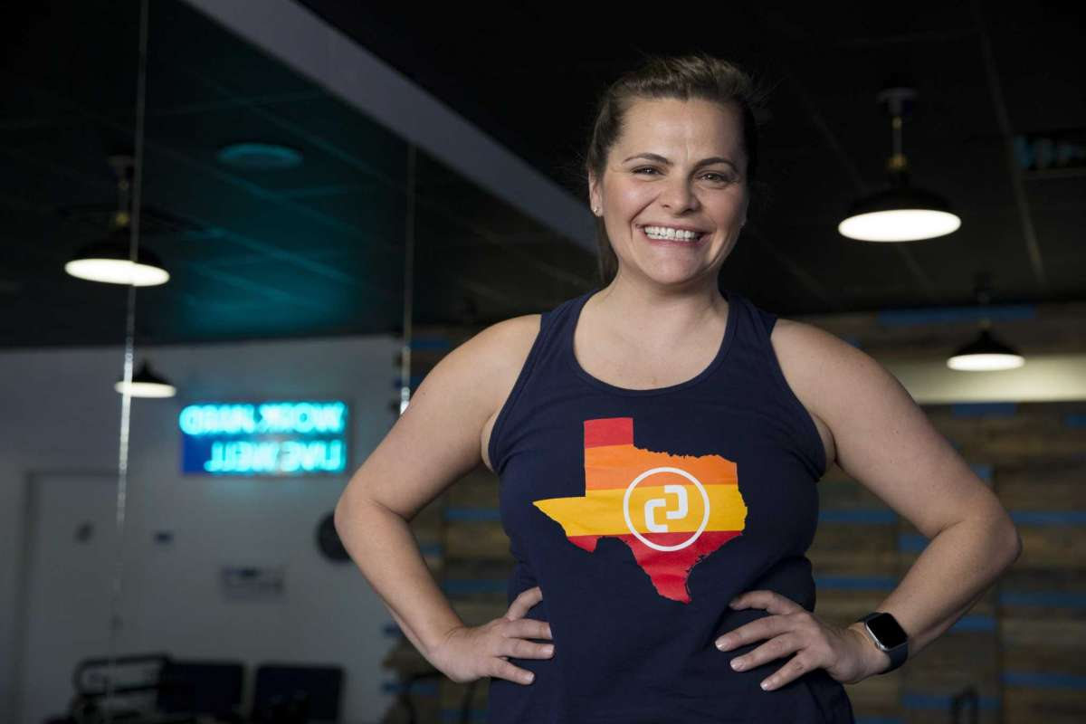 Jess Hughes, founder of Citizen Pilates, has background in oil and gas and she returned to her fitness roots to build this business.
