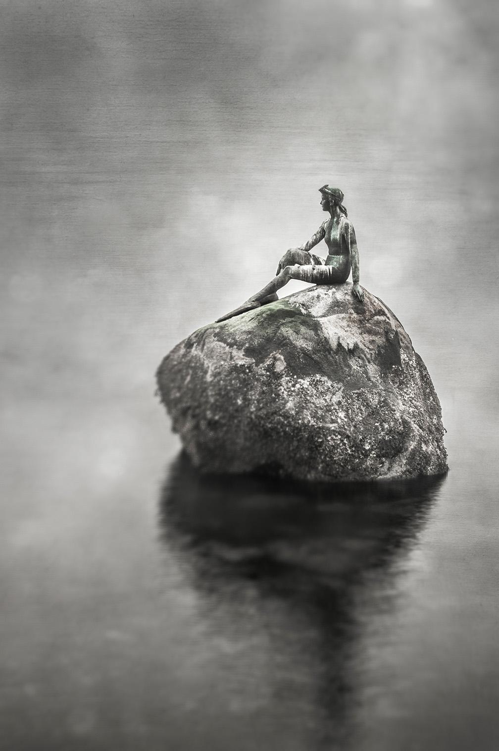 Raincity Series - Girl In A Wetsuit