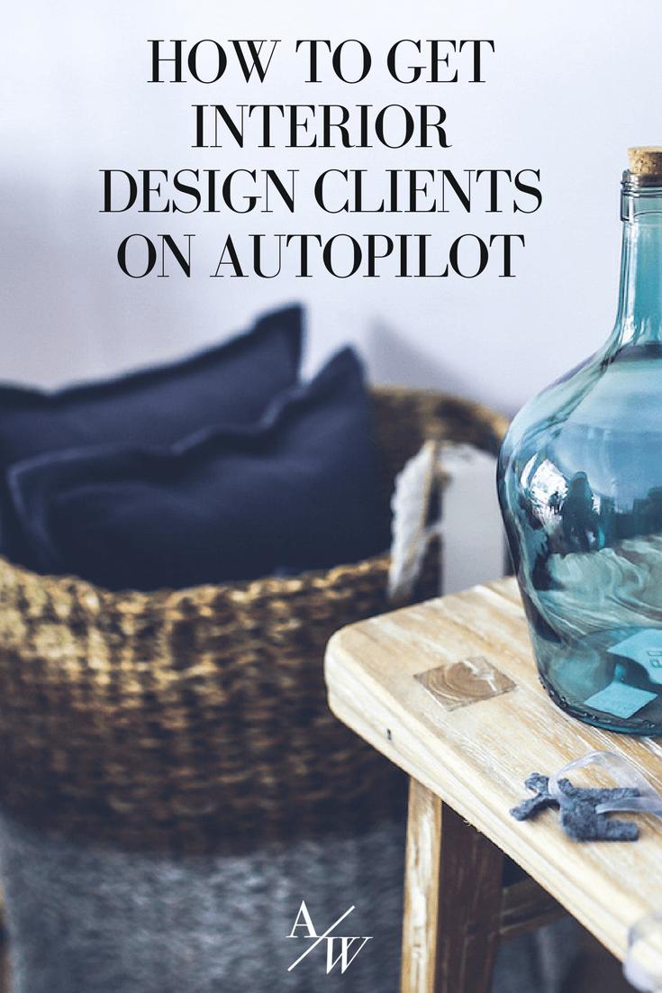 autoresponder for interior designer