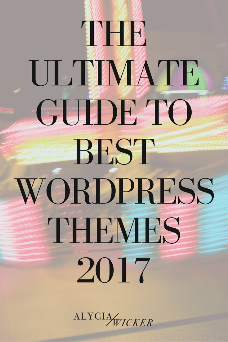 best wordpress themes 2017