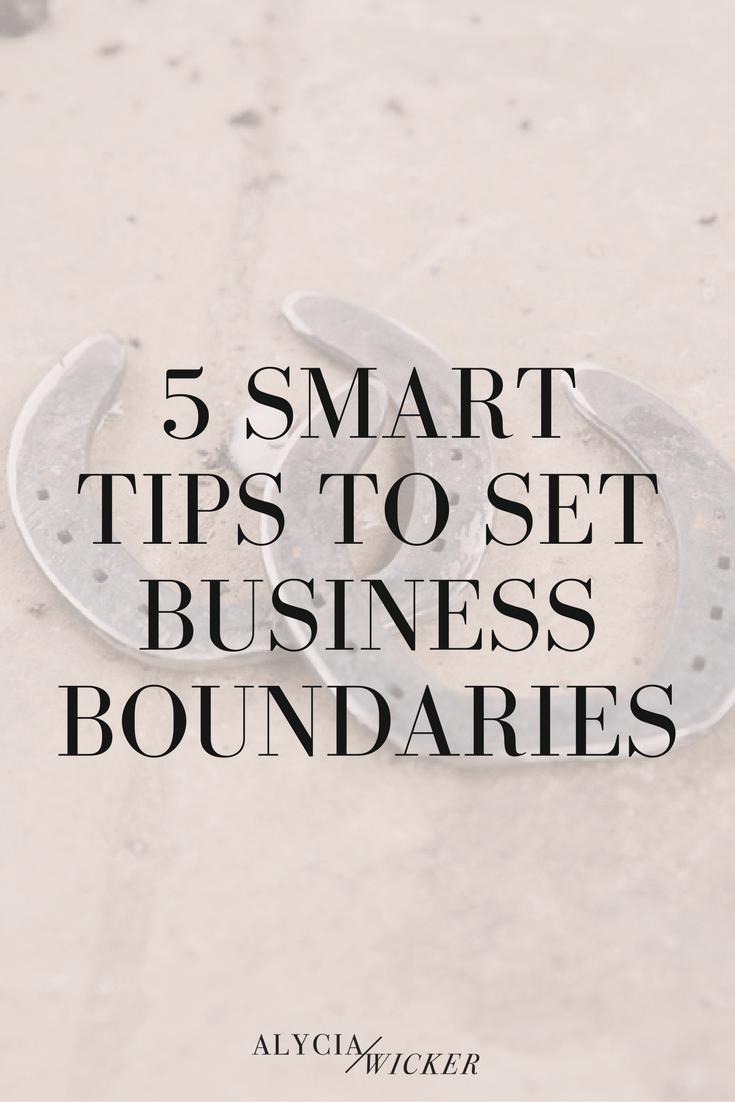 interior design business boundaries