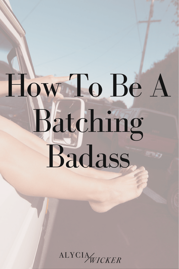 how to be a badass