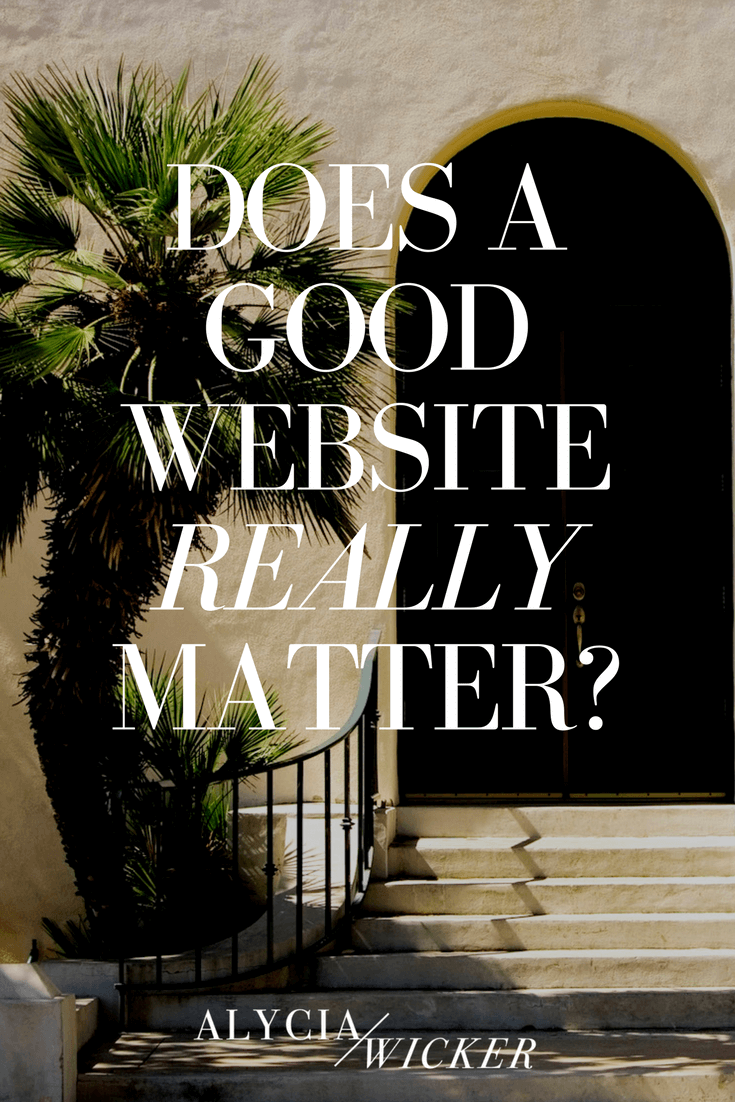 does-a-good-website-really-matter