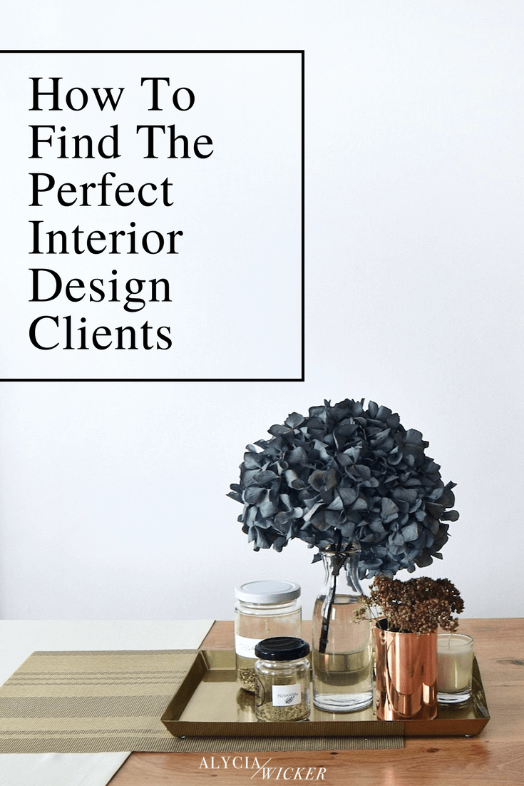 how to find the perfect client