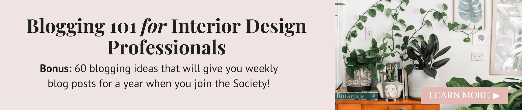 blogging for interior design professionals