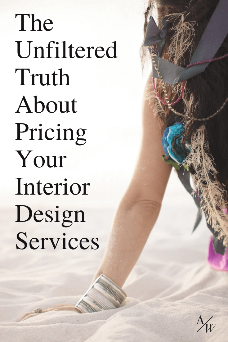 how to price your interior design work