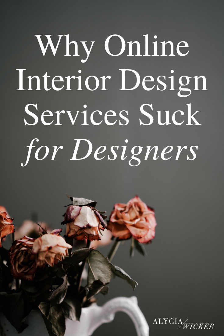 dying flowers, why only interior design sucks