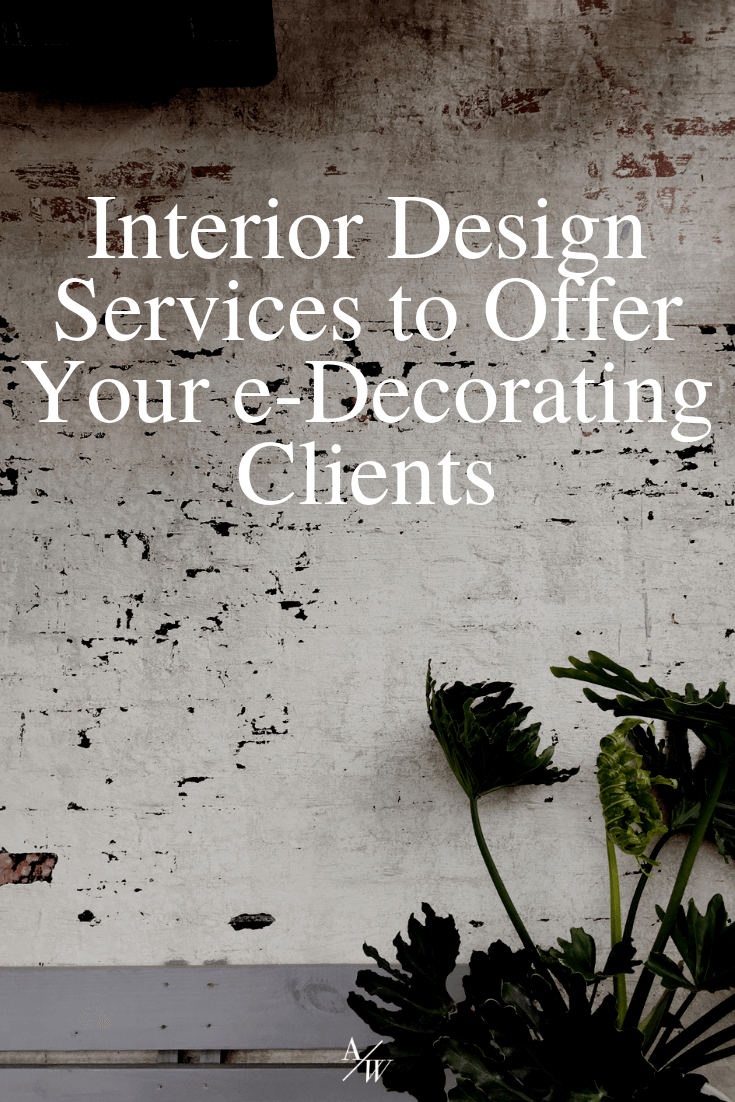 interior design services to offer