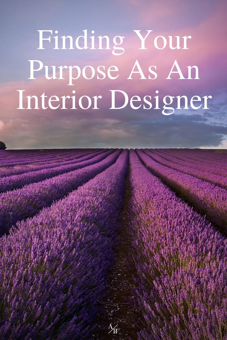 finding purpose as an interior designer