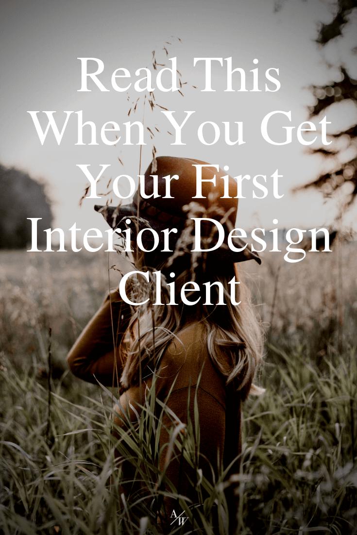 first client