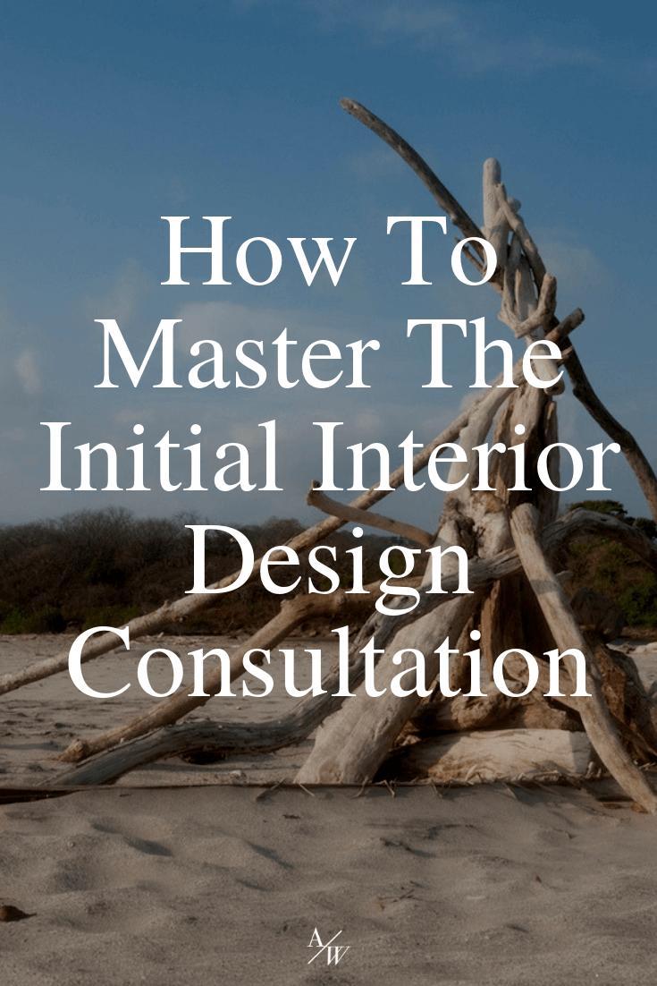 initial interior design consultation