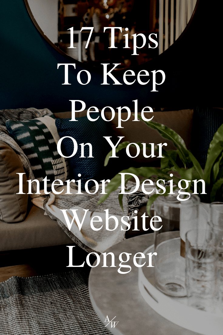 couch with blankets, text: keep people on your website longer