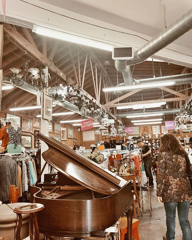 Thrifting! | Couldn't buy anything I can't fit in a suitcase, but still makes me happy. . . . . . . . . . . #la #lalaland #losangeles #thrift #thrifting #vintage #thriftstore #junking #antiques #creativeweirdos