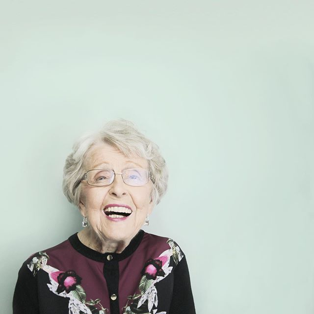 Gigi | 2.19.1922—7.18.2019 |  Gigi was always bedecked in jewels and color, she was gregarious, witty, and laughed at her own jokes. I would hate to have that sparkling personality poorly showcased with a less than worthy photo.  I took these pictures last year. I always hated the pictures people had of their grandparents at the end of their life. Taken whilst sitting in a chair, wearing a nubby sweater and not looking like the person they really were. Their personality overshadowed by their age.  She questioned my forceful request of portrait session but at the end of the day she humored me. I'm glad she did because this is how I think of her and I hope that when people see these pictures they get a clear understanding of everything she was.
