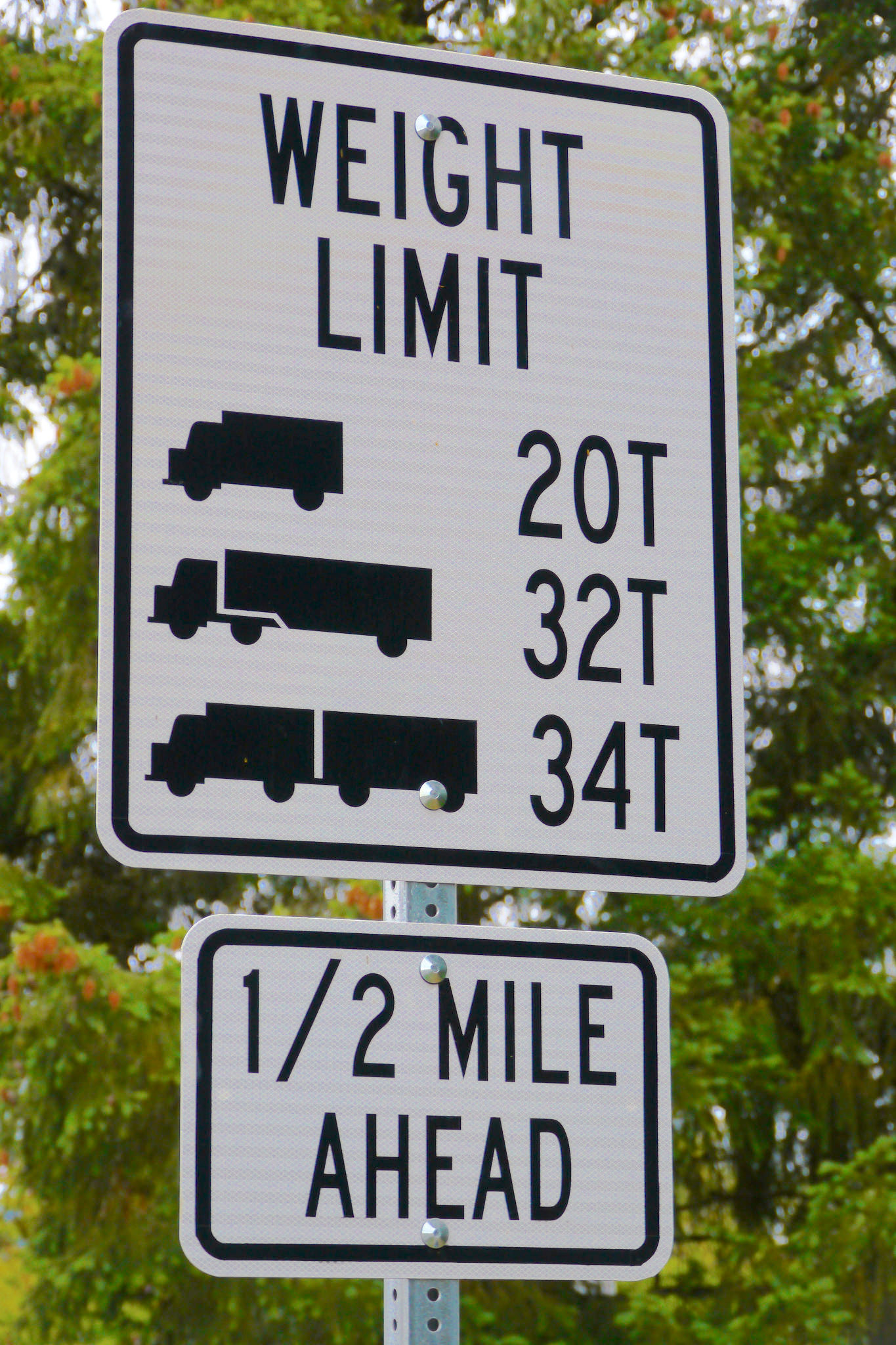 PHOTO CREDIT:  WEIGHT LIMIT SIGN  BY   R  ICK OBST  . LICENSED UNDER   CC BY 2.0  .