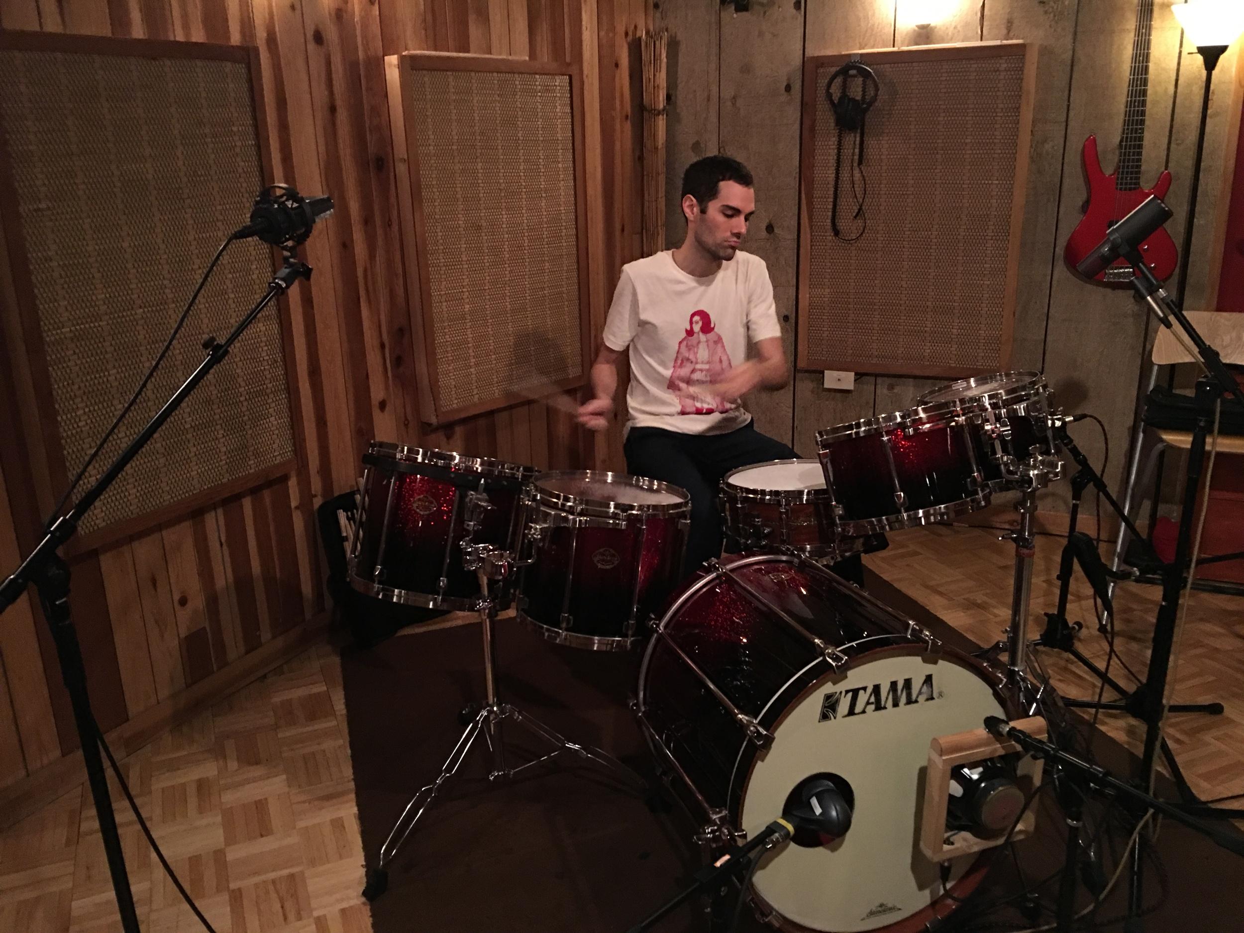 Our most excellent drum guru, Mathew Baker...
