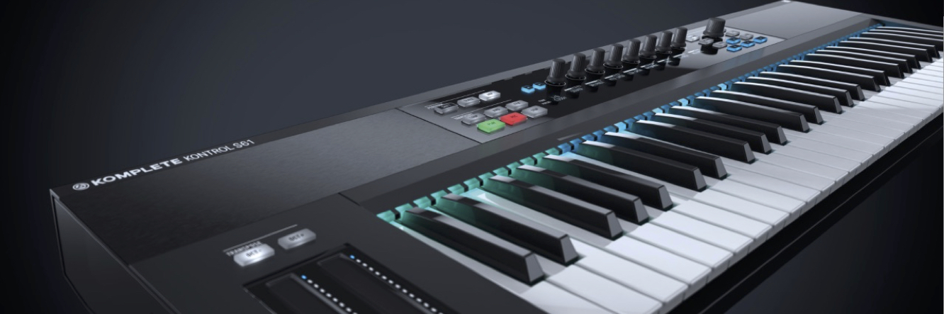 Native Instruments S88 Controller and California Keys Grand. Totally inspiring!!