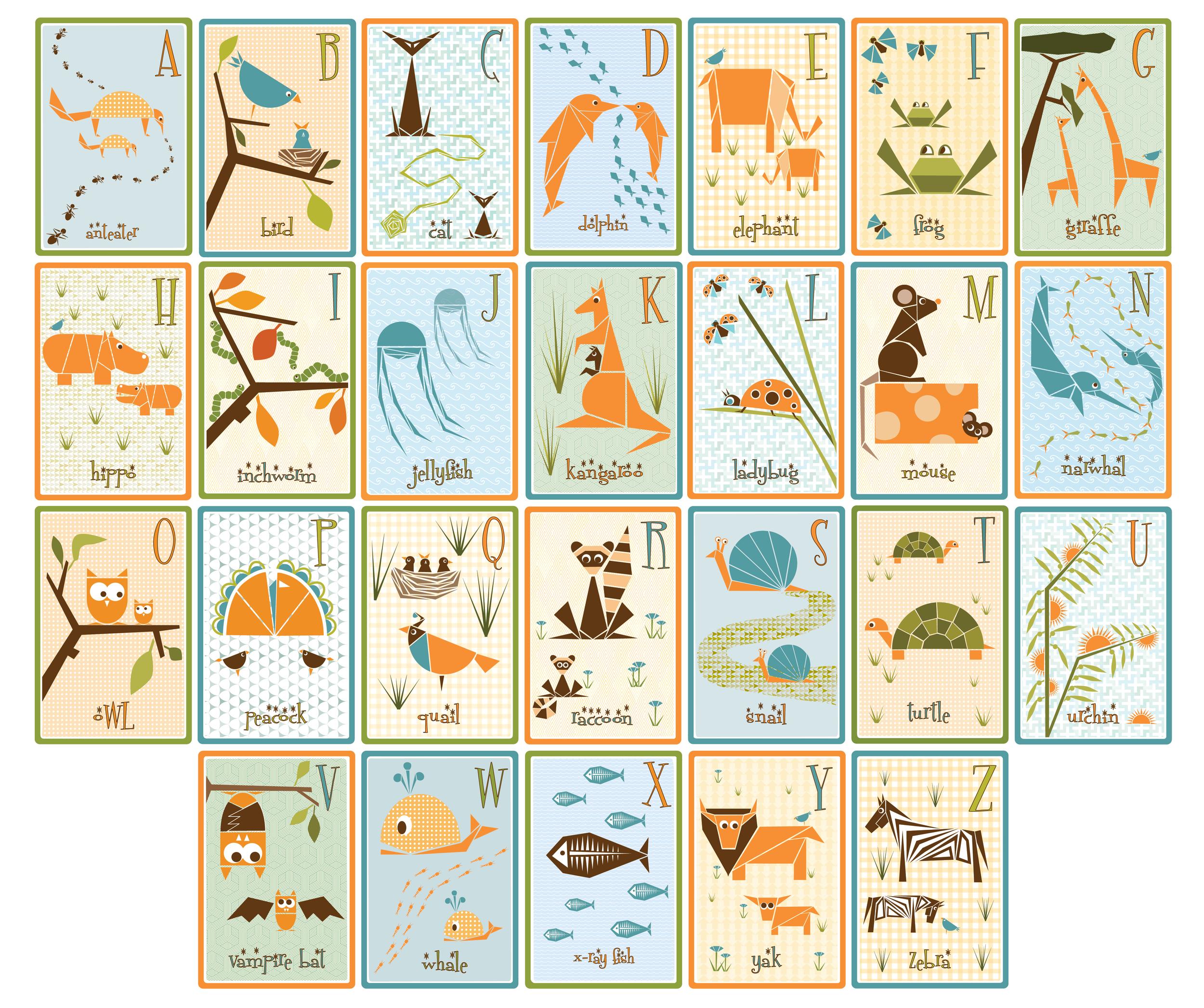 Retro Children's Alphabet