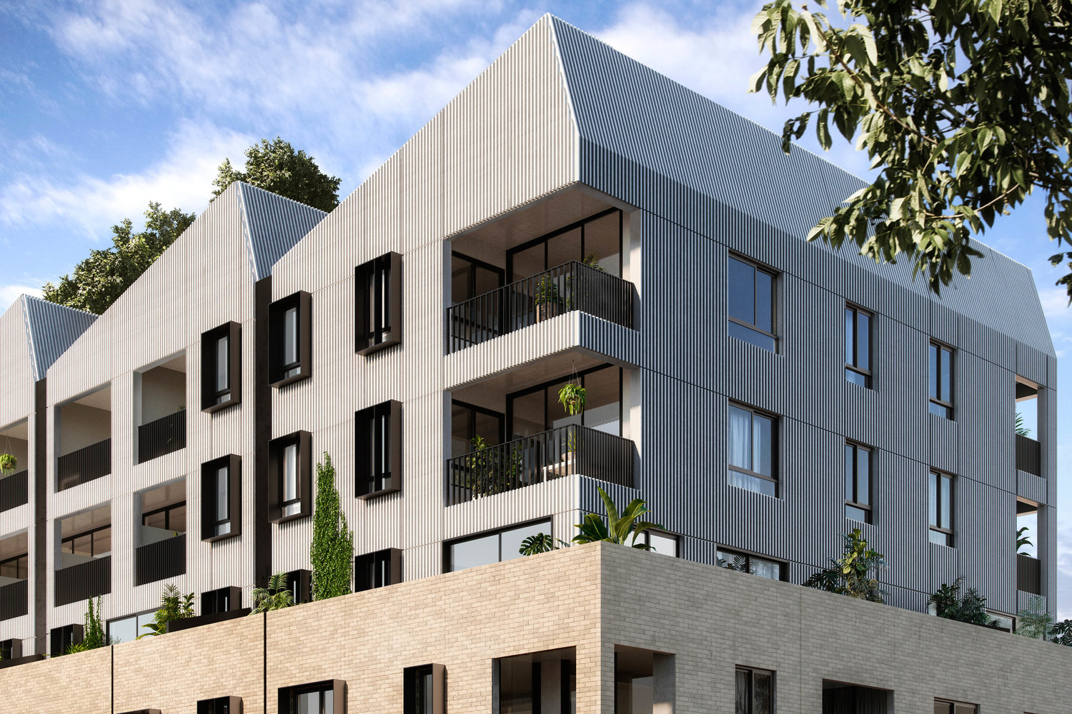 Breese st Apartments article for Green mag