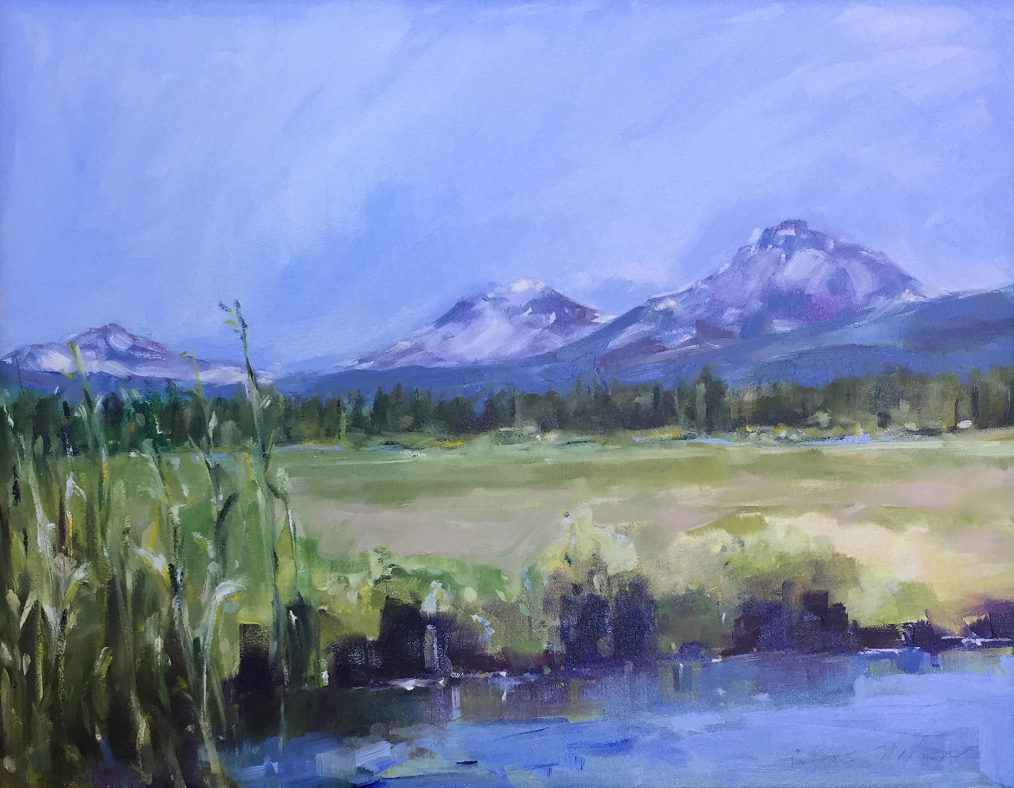 Chris Nelson Oil Painting