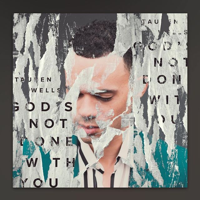 """@taurenwells has an amazing new song out! """"God's Not Done Done With You"""" isn't simply a true statement, I believe it is a promise.  I'm honored to have done the drum programming and guitars on this amazing song for my friend @bernieherms.  My good friend, fellow Ohioan, and frequent @tashalayton collaborator, @jsappmusic killed the mix!  Lives will be changed when God speaks through this song. I 100% believe that, and I'm  humbled to have played a part in this message going out.  Go listen and share!"""
