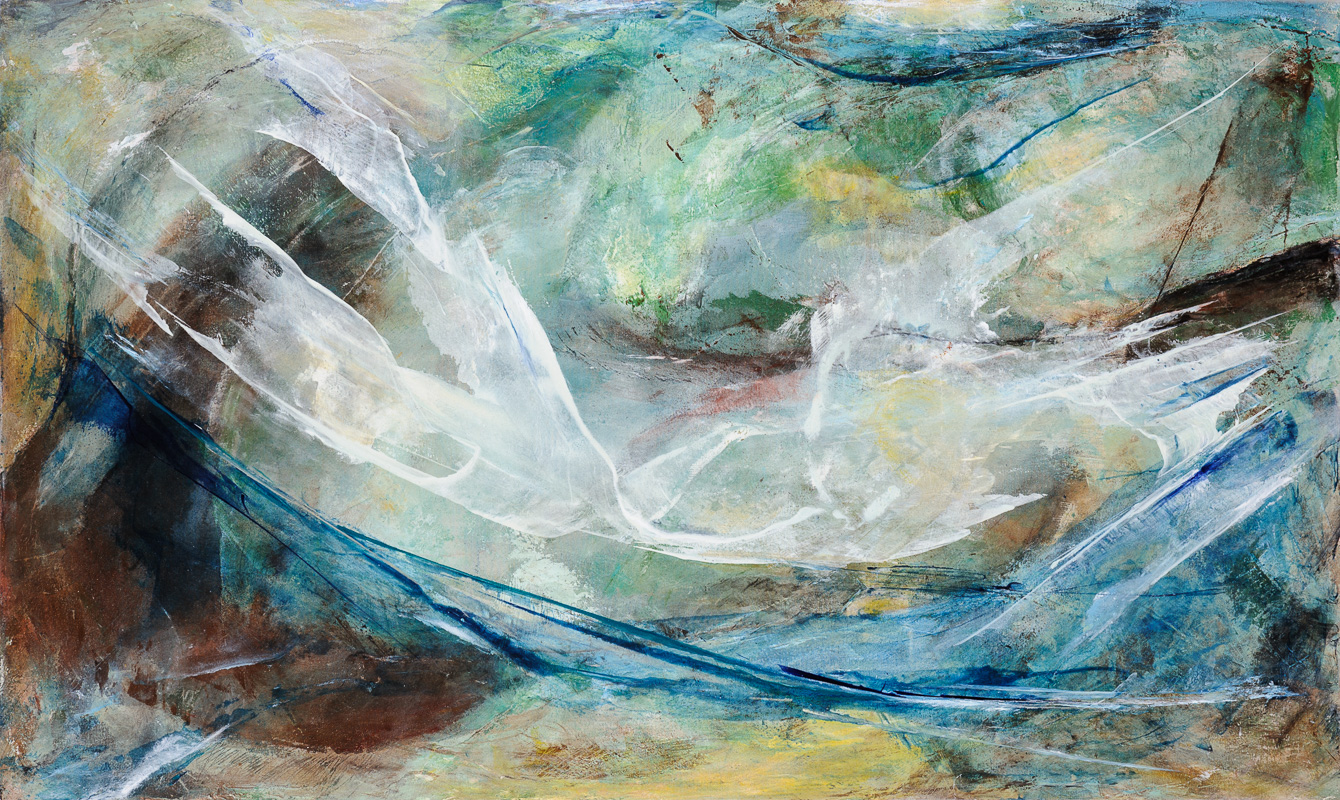 Méandres | Composition 376 (vendu/sold)
