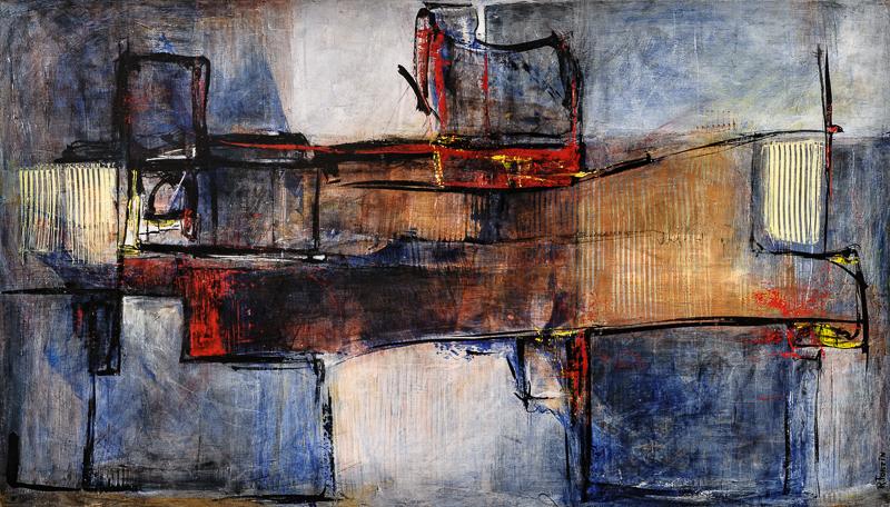 Intervalles | Composition 403… tableau terminé