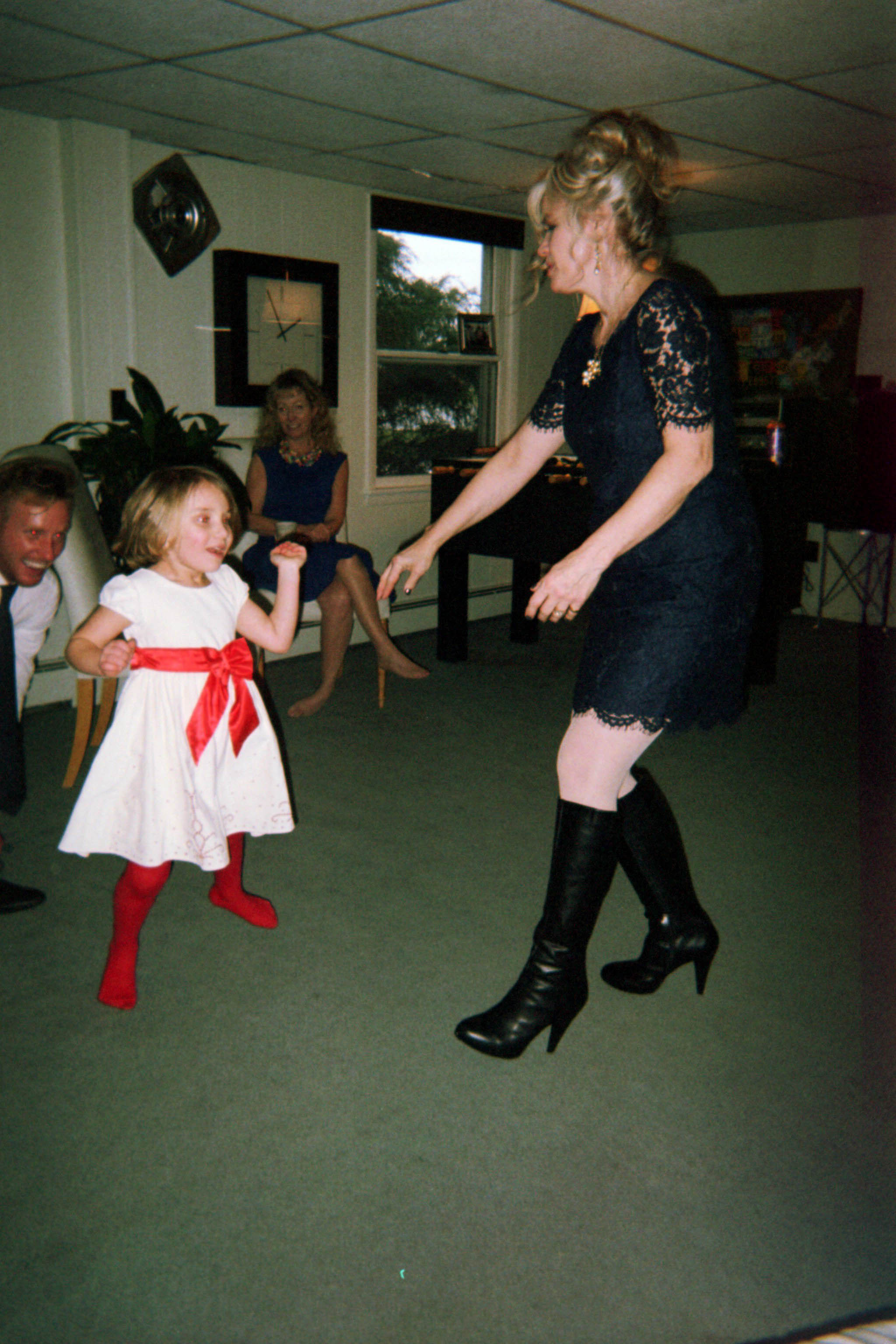 dancing with gurney