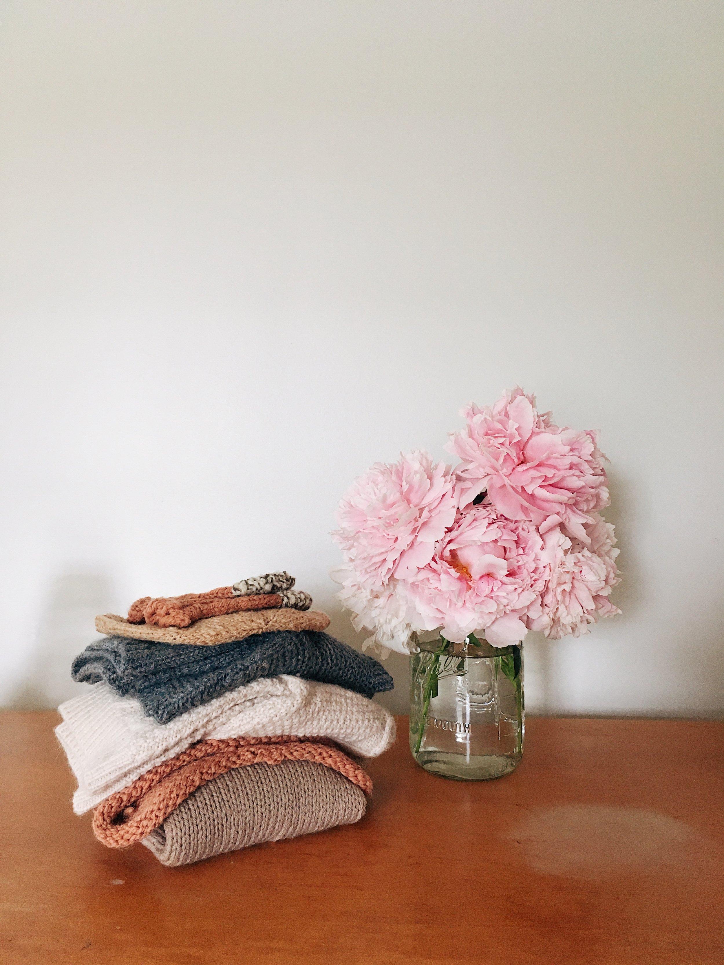 handmade wardrobe knitting hand knits by samantha spigos