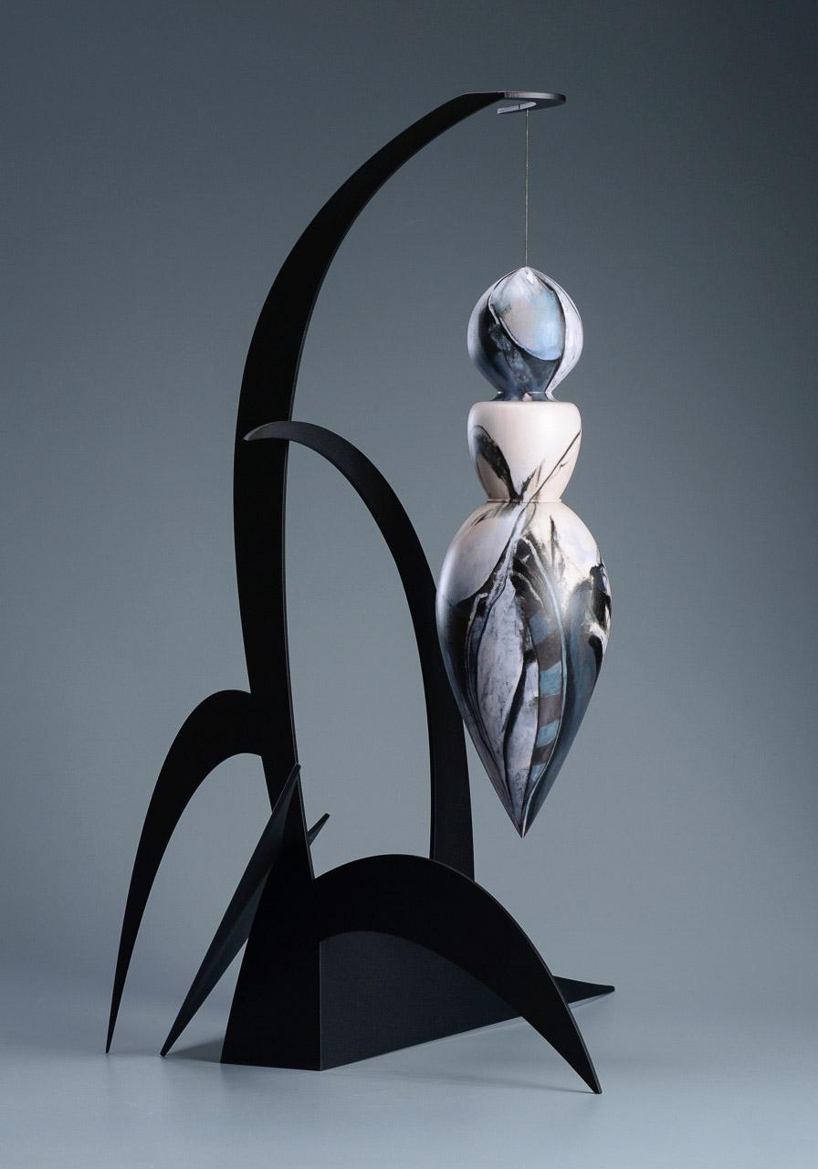 """Emerging Venus 6    3D Print & Welded Steel  32"""" x 31"""" x 17"""""""