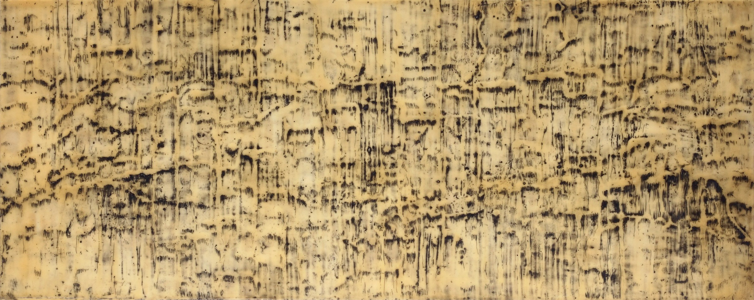 "Elective Affinities, I  (2013) 22"" x 55"""