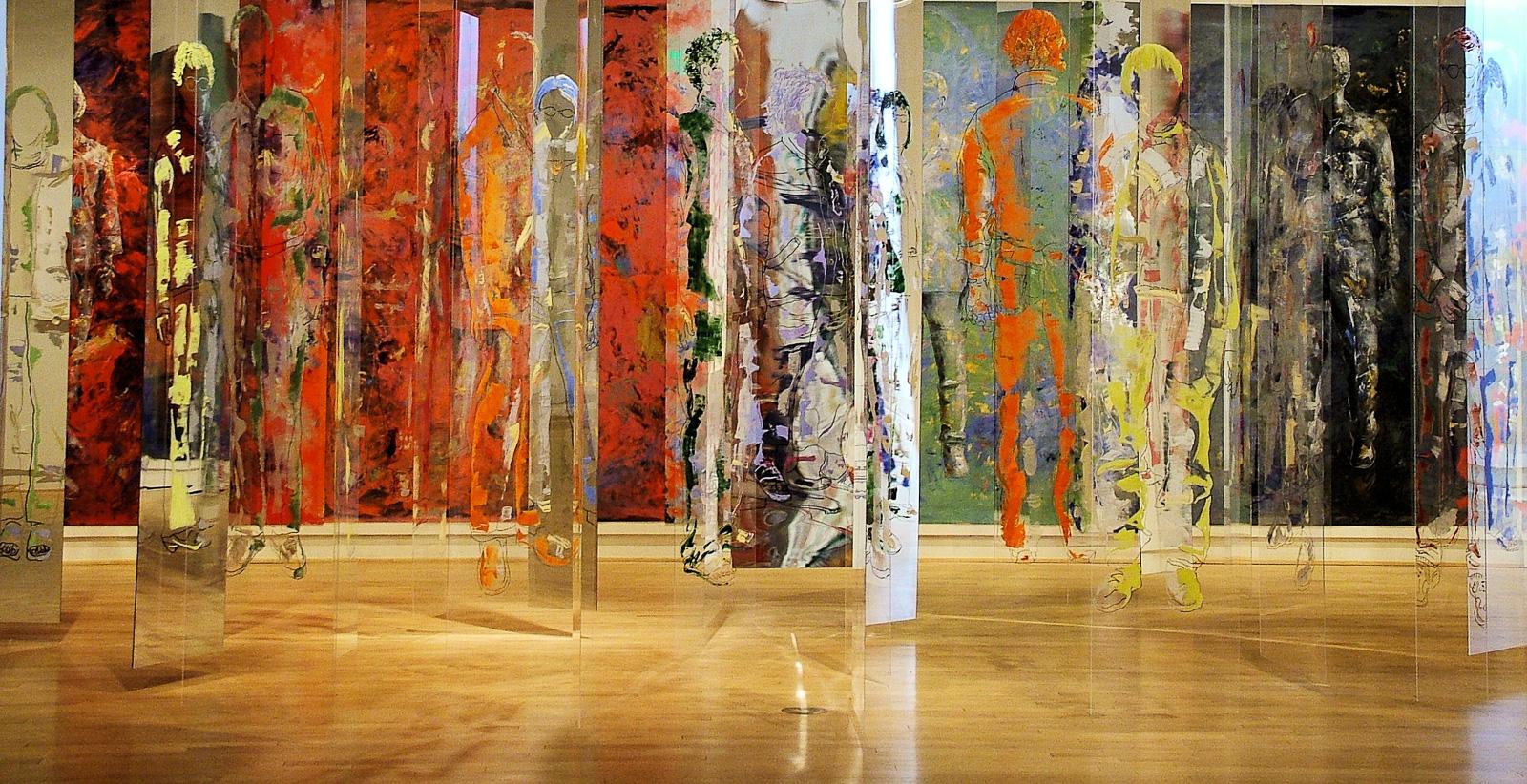 Corpus Perspicuus - Come With Me , Installation, o-c & plexi, 2005