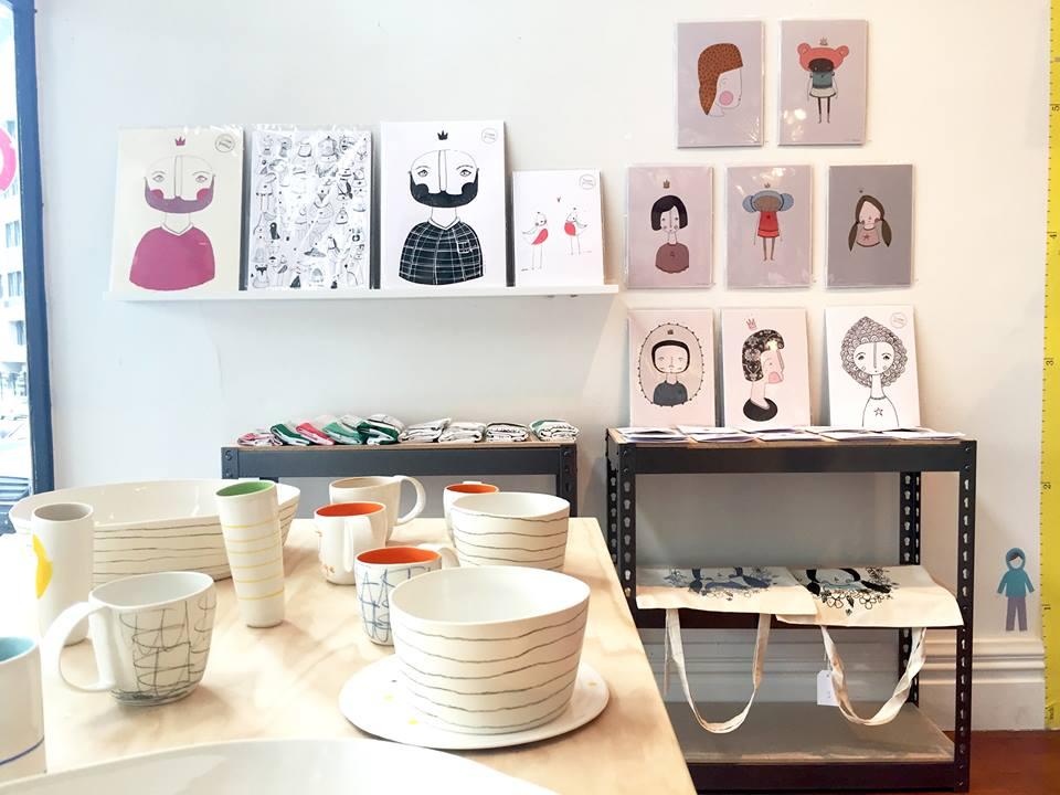 Shanley Ceramics and Olivia Andrews Illustration