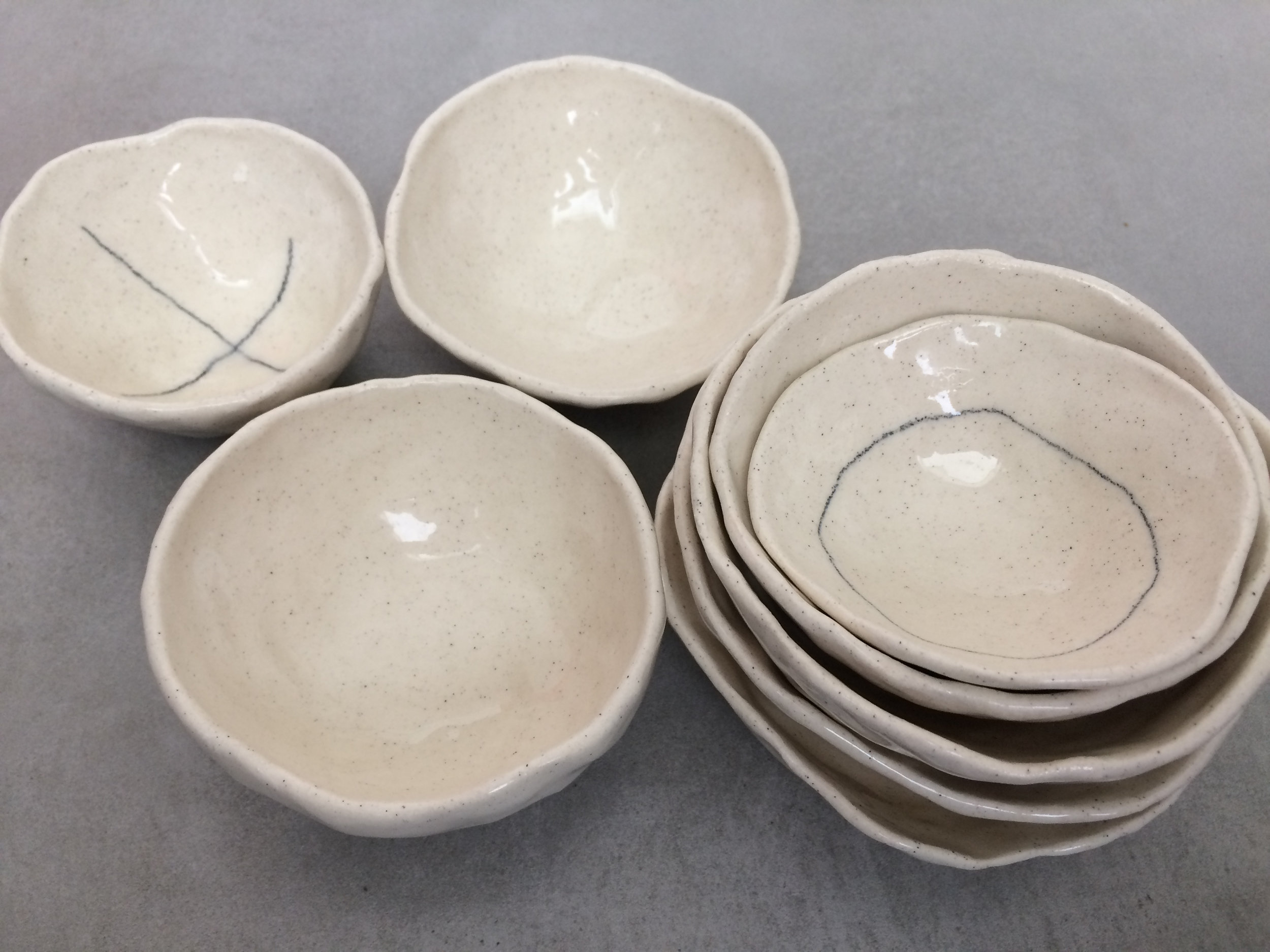 Nesting bowls by Susie Ripley