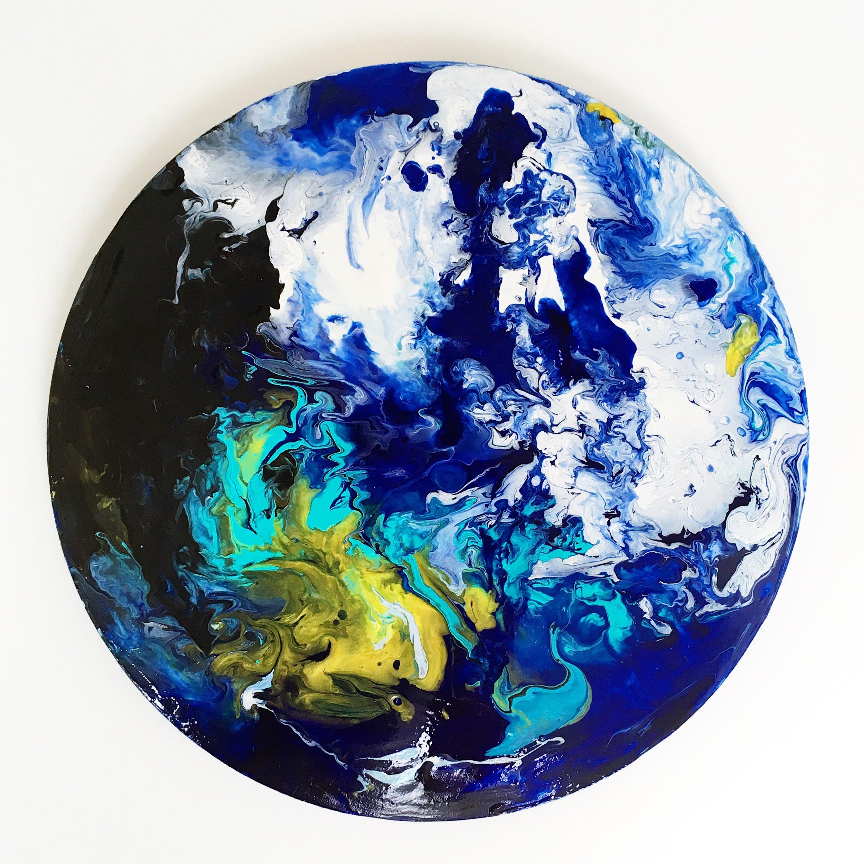Inge Flinte fluid acrylic workshop