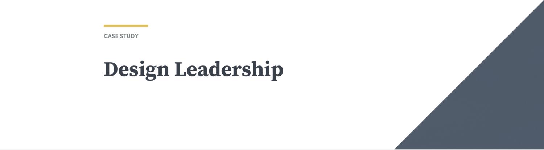 Design Leadership Kara Hodecker