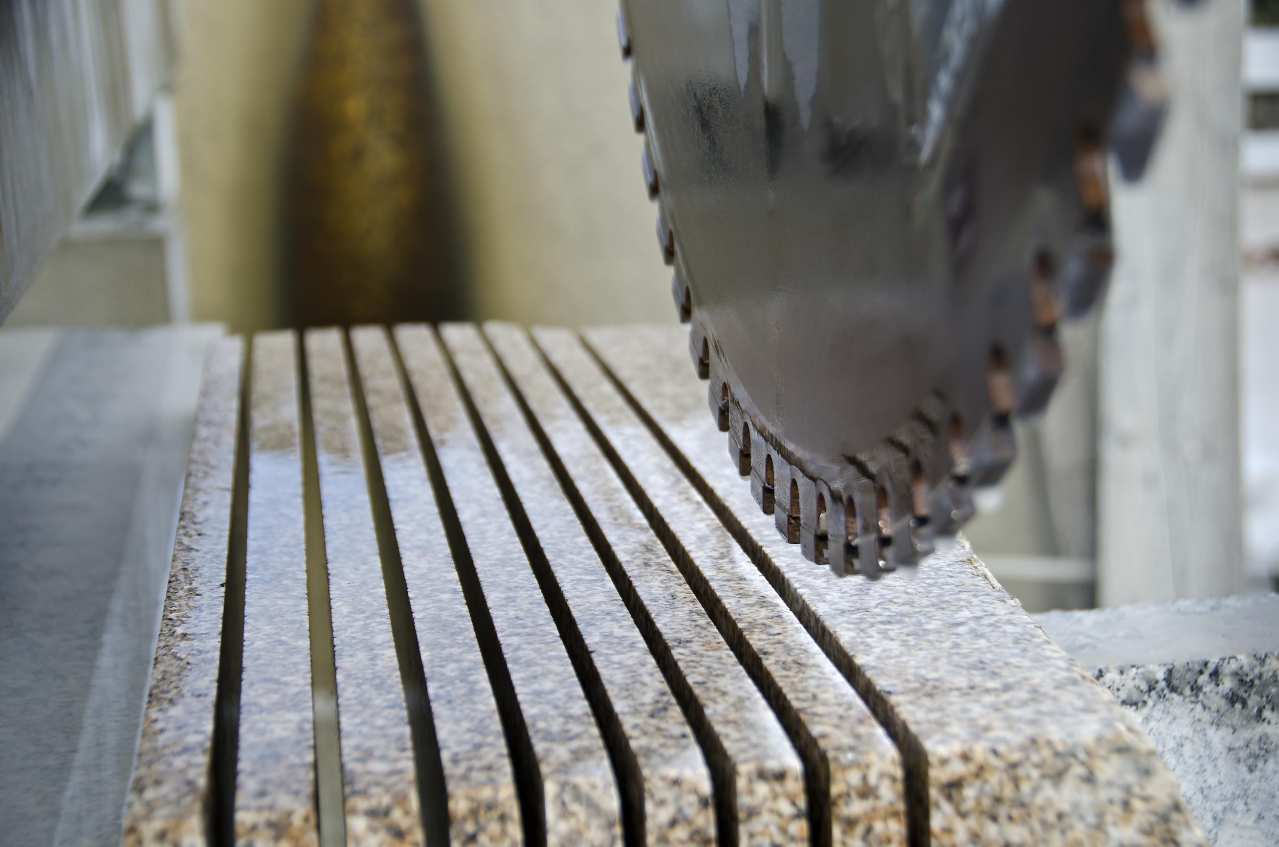 Optimisation de la productivité sur des équipements de coupe de pierre