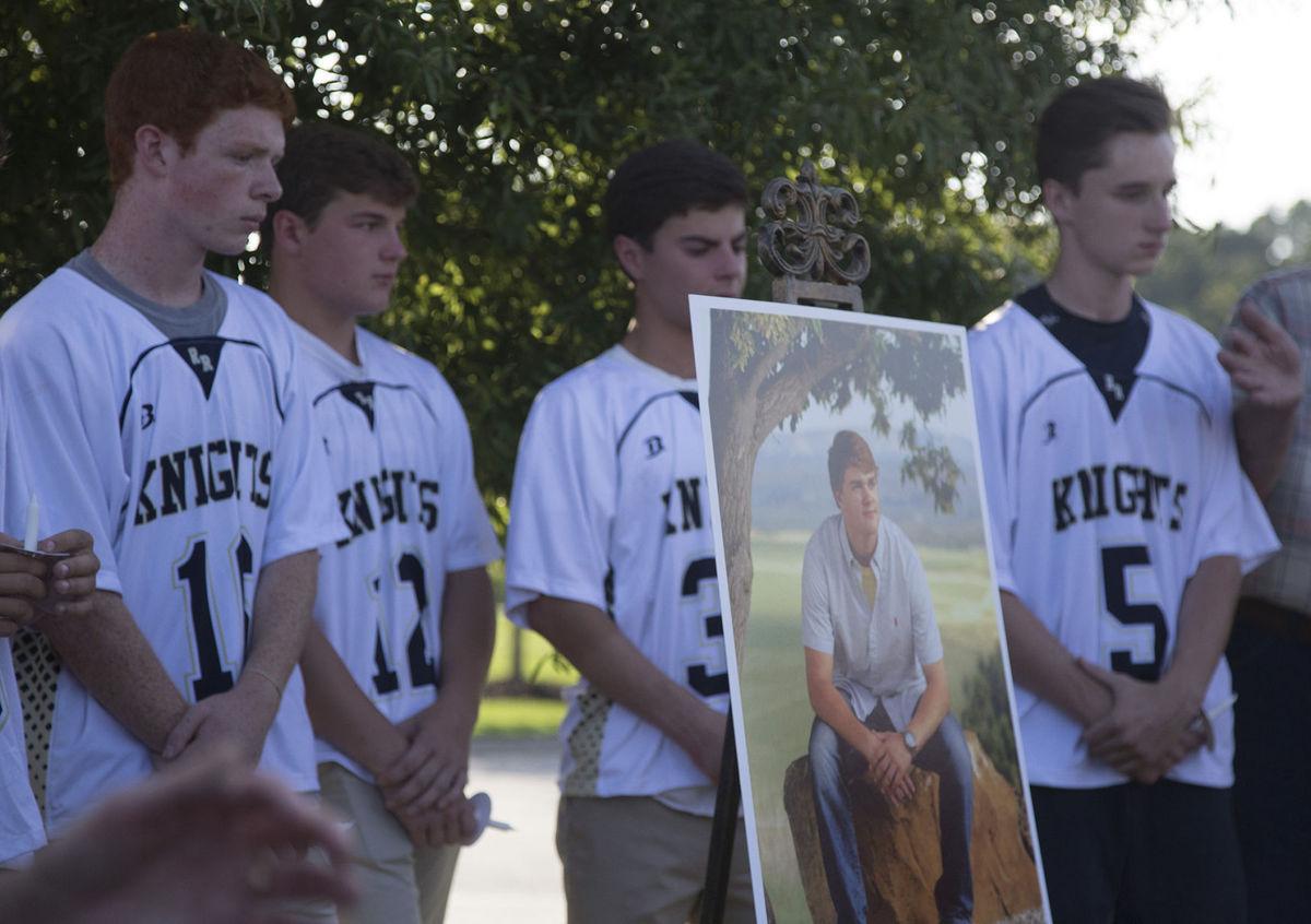 Vigil for Carter Davis