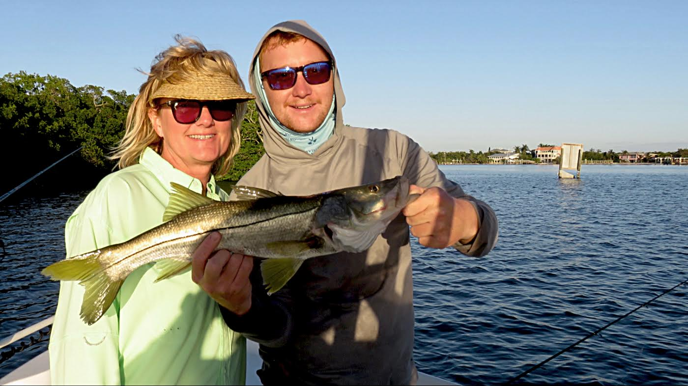 Snook are a popular gamefish species in Southwest Florida, common in the waters around Sanibel and Captiva.