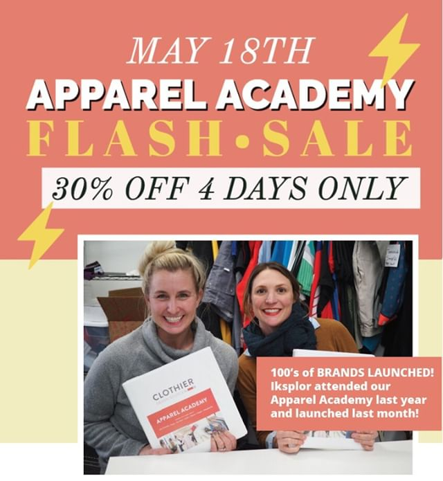 30% OFF The Apparel Academy ⠀MAY 18th 9-5pm ⠀⠀⠀⠀⠀⠀⠀⠀⠀ *Limited spots available at our factory ⠀⠀⠀⠀⠀⠀⠀⠀⠀ Use code: ⠀⠀⠀⠀⠀⠀⠀⠀⠀ Seeyouthere30⠀⠀⠀⠀⠀⠀⠀⠀⠀ ⠀⠀⠀⠀⠀⠀⠀⠀⠀ Take 5 classes in one day on how to be the best new apparel entrepreneur. Take a tour of our clothing factory, and start formulating your plan to get your clothing line made. This is not a design class, this is Apparel Entrepreneur Class!⠀⠀⠀⠀⠀⠀⠀⠀⠀ ⠀⠀⠀⠀⠀⠀⠀⠀⠀ You will learn:⠀⠀⠀⠀⠀⠀⠀⠀⠀ -The design process and how to make good decisions on construction and fabric⠀⠀⠀⠀⠀⠀⠀⠀⠀ -The prototype/sampling process and how to find the right factory partner and how to evaluate your prototypes⠀⠀⠀⠀⠀⠀⠀⠀⠀ -The tech pack/ Spec sheet process and how to read them/create them for your product(s)⠀⠀⠀⠀⠀⠀⠀⠀⠀ -The manufacturing process and learn behind the scenes details.⠀⠀⠀⠀⠀⠀⠀⠀⠀ -Tour our factory and development headquarters. ⠀⠀⠀⠀⠀⠀⠀⠀⠀ Click the link in our profile to attend. ⠀⠀⠀⠀⠀⠀⠀⠀⠀ ⠀⠀⠀⠀⠀⠀⠀⠀⠀ #madeinusa #createcultivate #makeitminnesota #entrepreneurlife #techdesign #etchicalfashion #smallbusiness #productdevelopment #madeinamerica #seminar #ethicalfashionforum #education #alwaysbelearning #madelocal #fashiondesign #fashionstartup #ecofashion #ethicalfashion #imadeyourclothes #sweatshopfree #ethicallymade #sustainablefashion #fashionrevolution #slowfashionblogger #appareldesign #madeinmn #communityovercompetition #whomadeyourclothes