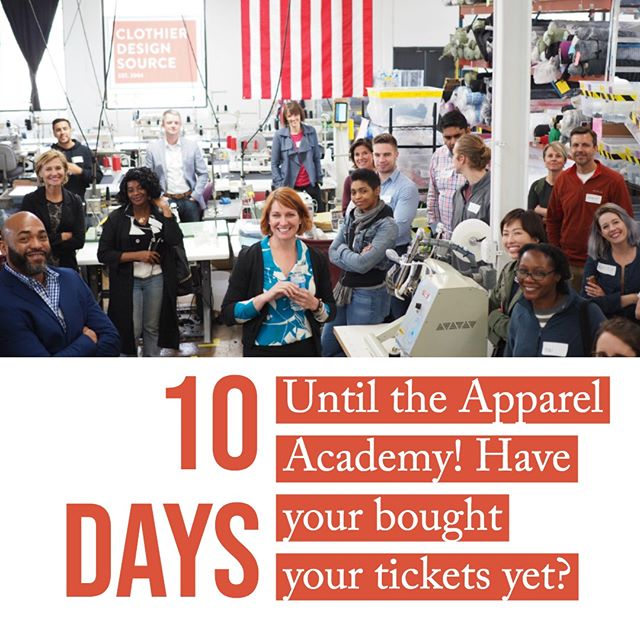 Why should you attend? You will be learning from the best, touring an actual clothing factory and meeting other entrepreneurs who are going through the same process you are. ⠀⠀⠀⠀⠀⠀⠀⠀⠀ ⠀⠀⠀⠀⠀⠀⠀⠀⠀ Sign up via the link in our profile or go to www.theapparelacademy.com to learn more. ⠀⠀⠀⠀⠀⠀⠀⠀⠀ ⠀⠀⠀⠀⠀⠀⠀⠀⠀ ⠀⠀⠀⠀⠀⠀⠀⠀⠀ #sourcefabrics #apparelacademy #whomadeyourclothes #imadeyourclothes #madeinusa #madelocal #clothingmanufacturer #appareldesign #sewing #usaclothingmanufacturer #independentdesigners #emergingdesigners #emergingdesigner #fashionbusiness #designerdiscussions #fashiondesigner #fashiondesign #fashionstartup #fashionbiz #businessadvice #fashionbrand #fashionentrepreneur #indiedesigner #makersmovement  #fashiondesigners #fashionworld #fashionindustry #youngdesigners #madeinminnesota