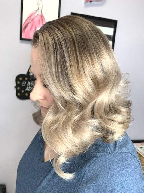 Lovely Long Bob with a Beautiful Sombre