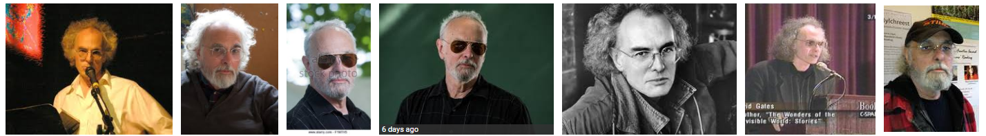 """Googling images for """" David Gates author """" reveals a man of many styles..."""